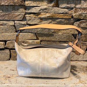 Vintage signature optic coach mini bag